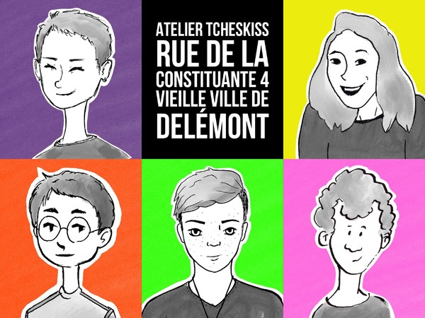 Atelier Tcheskiss - Ca cartoon