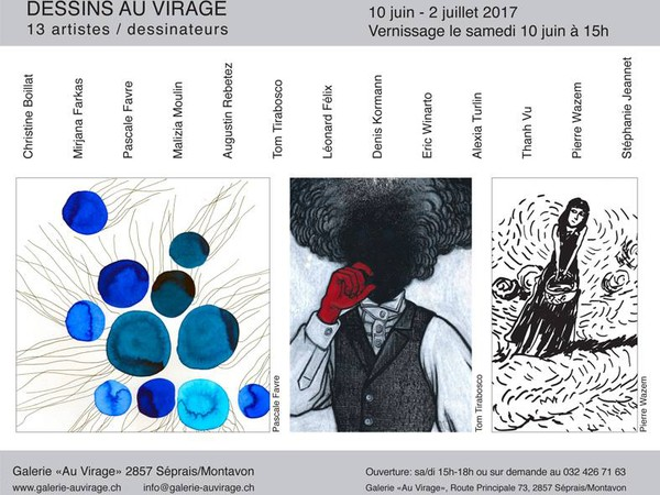 Expo Dessins au Virage
